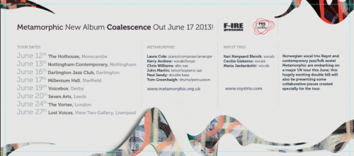 "Metamorphic ""Coalescence"" F-ire Label, 2013"